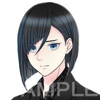 キャラクターのラフデザインと顔アイコン作成(3体分)