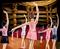 Illustration of ballerina (in leotard)