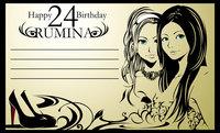 アイドルの誕生日メッセージカードデザインに使用